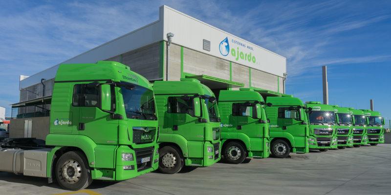 Estamos preparados para el transporte por carretera de mercancías peligrosas