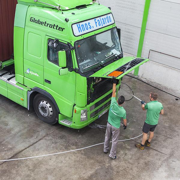 Mantenemos nuestros camiones en perfecto estado