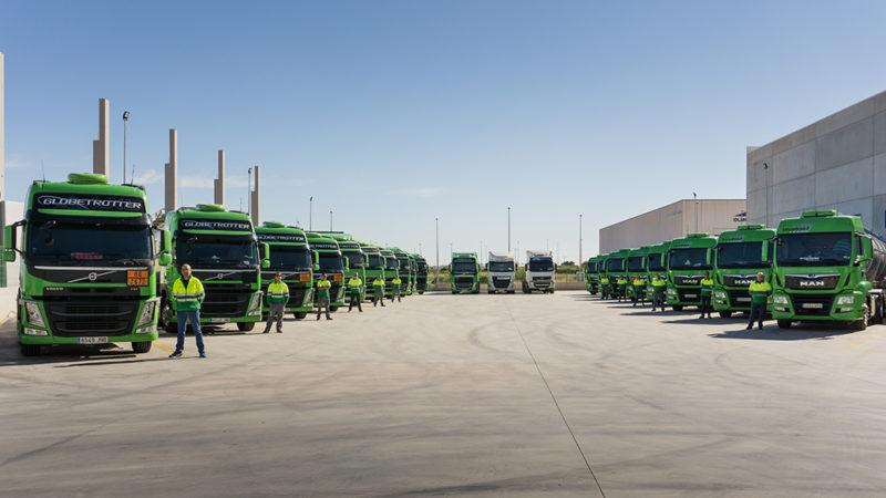 Nuestro personal está plenamente capacitado para el transporte de mercancías ADR
