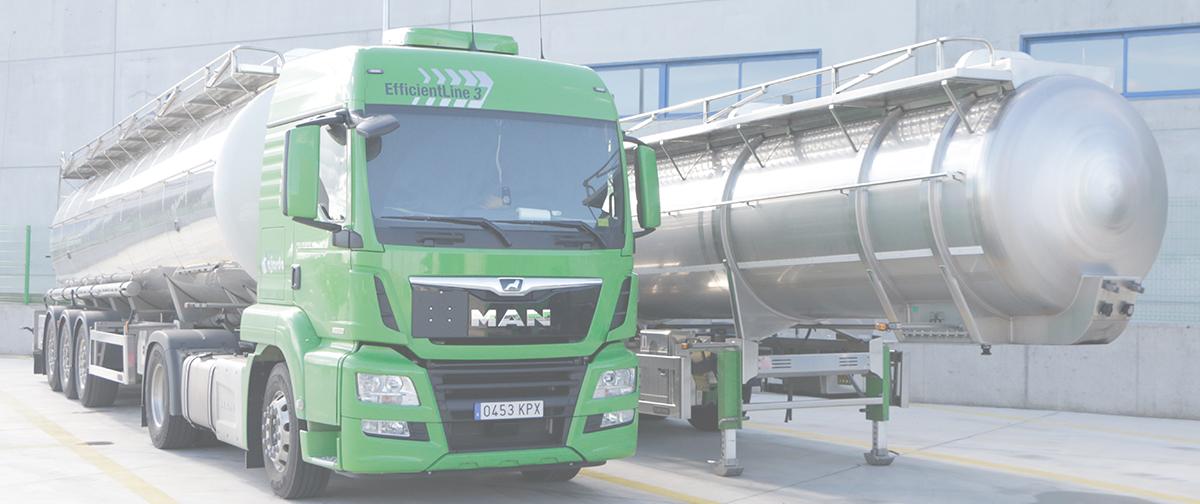 Transporte de líquidos químicos en cisternas monocuba y compartimentadas