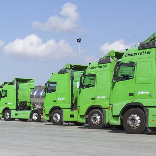 Nuestros camiones pueden llegar a toda Europa