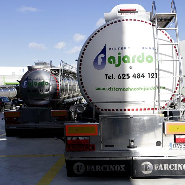 Moderna flota de cisternas monocuba y compartimentadas